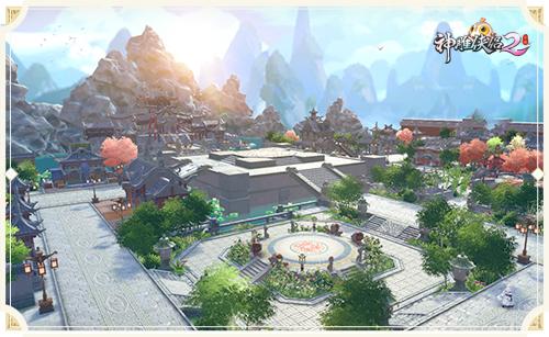 阴晴不定江湖路,《神雕侠侣2》手游看遍繁花美景-4.磅礴大气的临安.jpg