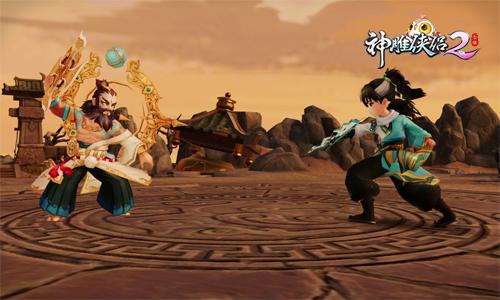《神雕侠侣2》新玩法全解析 跨服组队夺秘宝-图2不同服务器的玩家与凶残的蒙古人同样棘手.jpg