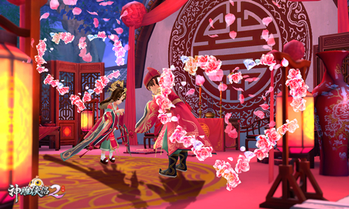 《神雕侠侣2·同心永结》3月6日公测 携手挚爱共结连理-图2 恩爱夫妻 执手与共.jpg